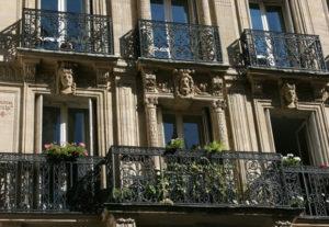 Immobilier Paris balcons
