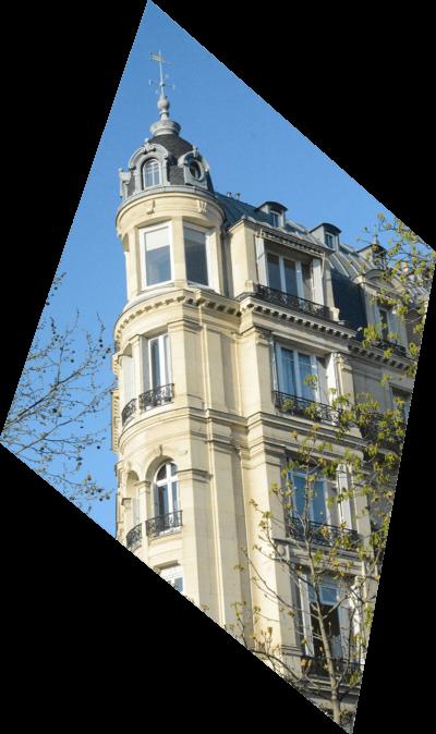 Diagnostics Immobiliers - Façade immeuble Paris Neuilly